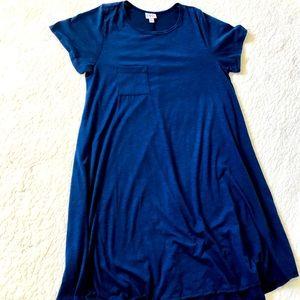 LuLaRoe Blue Carly Dress